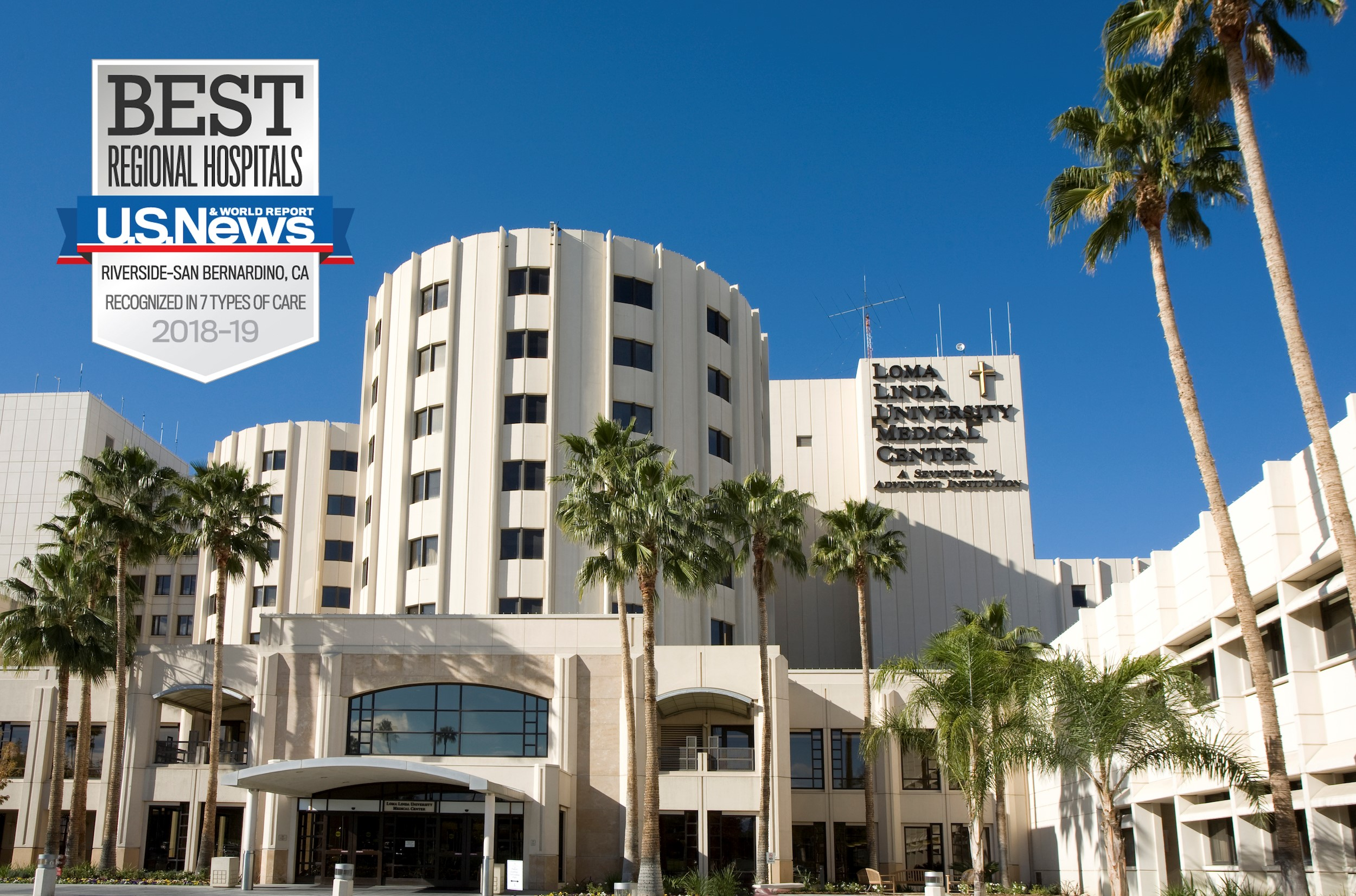 Loma Linda University Medical Center in Kalifornien/USA