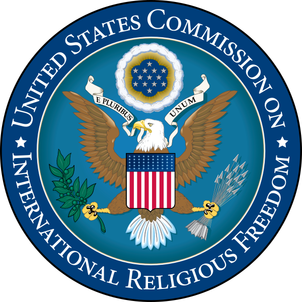 Logo der US-Kommission für internationale Religionsfreiheit (USCRIF)