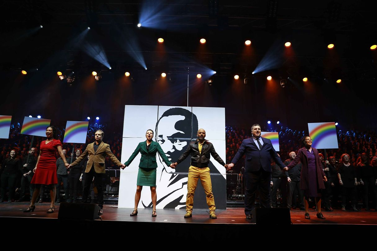 "Chormusical ""Martin Luther King"" in Essen"