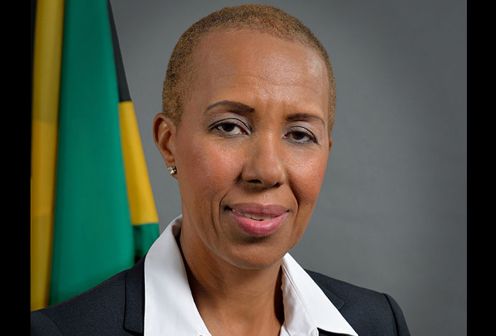 Jamaikas Technologieministerin Fayval Williams