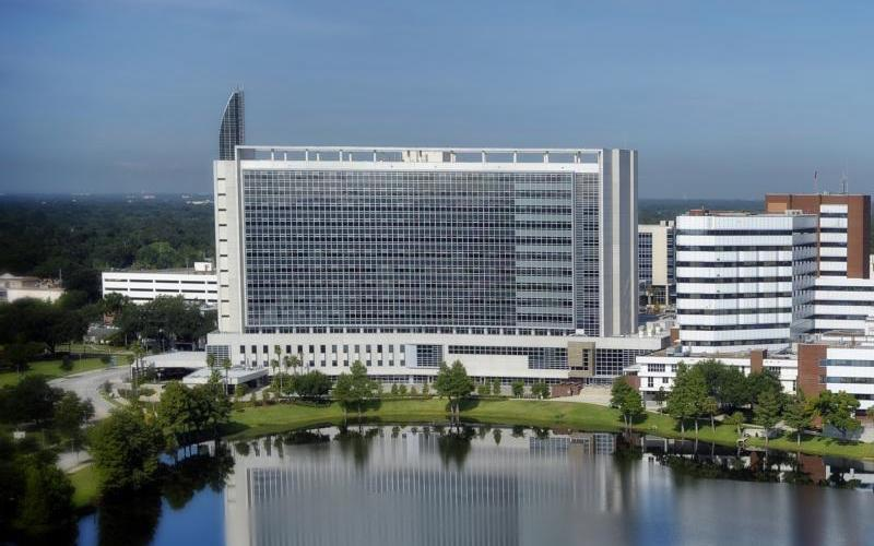 Krankenhaus der AdventHealth-Gruppe in Orlando, Florida/USA