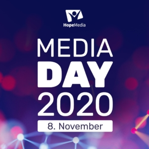 HOPE MEDIA DAY in diesem Jahr als Live-Online-Event